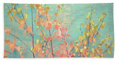 Autumn Wall Beach Towel