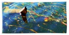 Autumn Water Beach Sheet