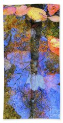 Autumn Watermark Beach Towel by Todd Breitling