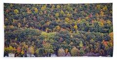 Autumn Waterside Beach Sheet