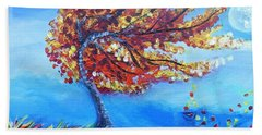 Autumn Whisper Beach Towel