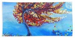 Autumn Whisper Beach Sheet