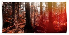 Autumnal Afternoon Beach Towel