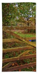 Beach Sheet featuring the photograph Autumnal Orchard by Anne Kotan