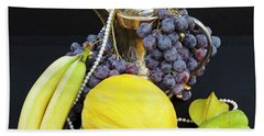Symphony Of Forbidden Fruits Beach Towel