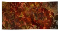 Autumnal Waning Beach Towel