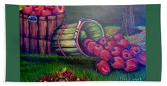 Autumn's Bounty In Tennessee Beach Towel by Kimberlee Baxter