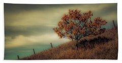 Autumns End Beach Sheet