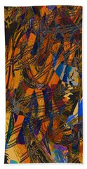 Autumn's Mellow Tones Beach Towel by Stephanie Grant