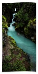 Avalanche Creek Beach Towel