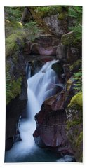 Beach Towel featuring the photograph Avalanche Gorge 3 by Gary Lengyel
