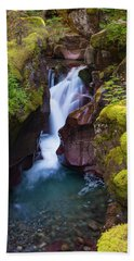 Beach Towel featuring the photograph Avalanche Gorge 4 by Gary Lengyel