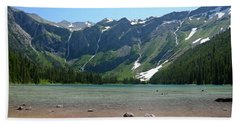 Avalanche Lake Beach Towel