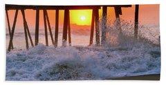 Avalon Fishing Pier Sunrise Beach Sheet