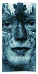 Avatar Portrait Beach Sheet by Odon Czintos
