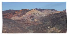 Beach Towel featuring the photograph Avawatz Mountain by Jim Thompson