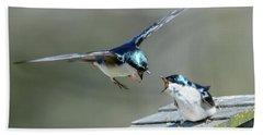 Avian Air Traffic Control Beach Towel