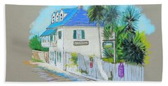 Aviles St,st. Augustine ,fla Beach Towel