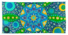 Ayahuasca Vision - Inside The Plant Cell  May 2015 Beach Towel