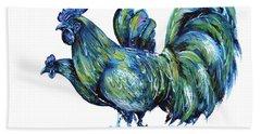 Ayam Cemani Pair Beach Sheet