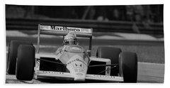 Ayrton Senna. 1988 Italian Grand Prix Beach Sheet