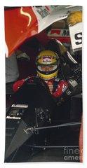 Ayrton Senna. 1990 Italian Grand Prix Beach Sheet