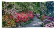 Azalea Path Beach Towel
