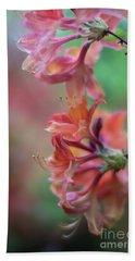 Azaleas Cluster Of Flowers Beach Sheet