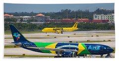 Azul Airline Beach Sheet