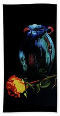 Azure Amphora Vase  Beach Sheet