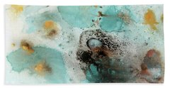 Azure Waters By V.kelly Beach Towel