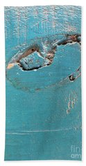 Azure Wood Beach Towel