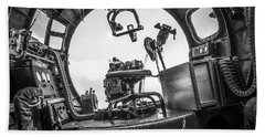 B-17 Bombardier Office Beach Sheet