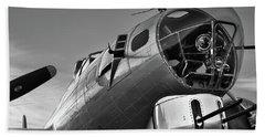 B-17 Nose Beach Towel