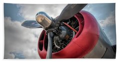 B-24j Liberator Engine II Beach Sheet
