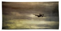 B24 In Flight Beach Towel