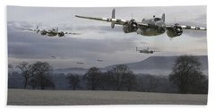 B25 Strike Package Beach Towel