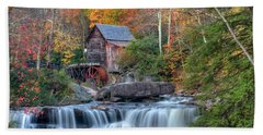 Babcock Grist Mill  II Beach Towel