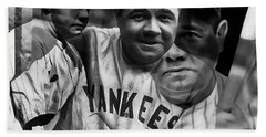 Babe Ruth Collection Beach Towel