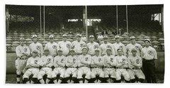 Babe Ruth Providence Grays Team Photo Beach Towel