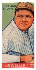 Babe Ruth Beach Sheet