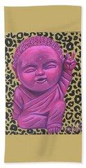 Baby Buddha 2 Beach Sheet by Ashley Price