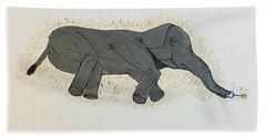 Baby Elephant  Beach Sheet
