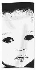 Baby Face 2 Beach Towel