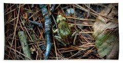 Baby Frog Beach Sheet