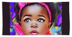 Baby Girl Beach Sheet