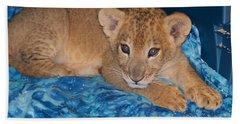 Baby Lion Beach Towel
