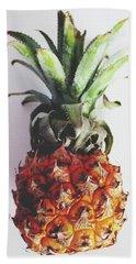 Baby Pineapple- Art By Linda Woods Beach Towel
