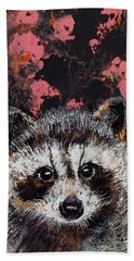 Baby Raccoon Beach Towel