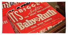 Baby Ruth Beach Towel